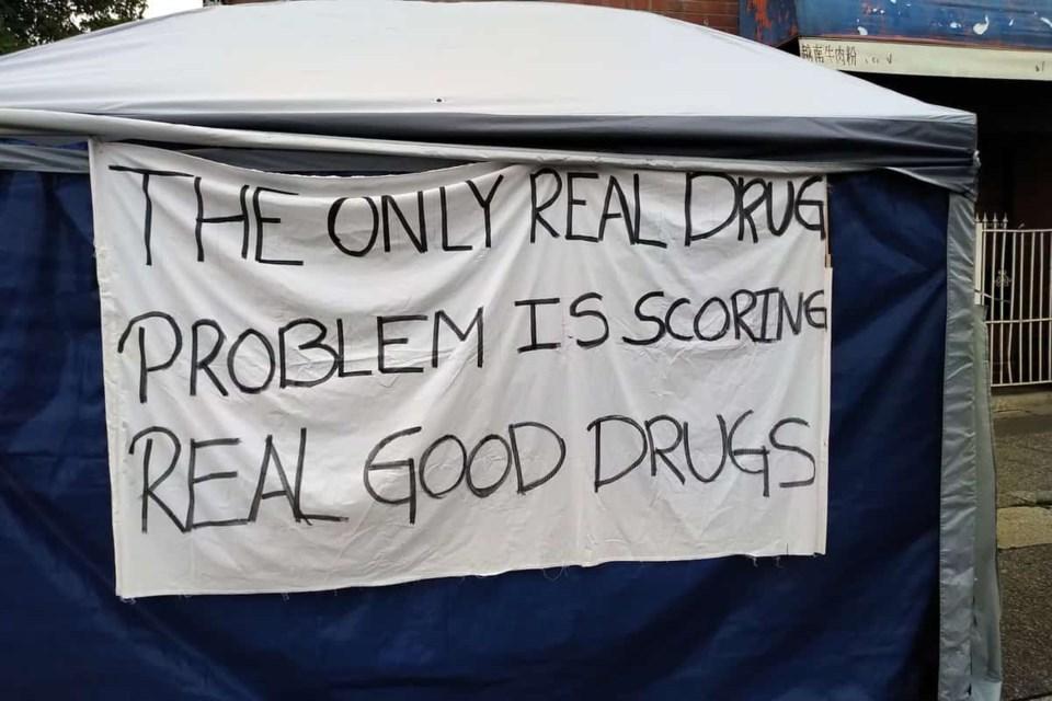 dana-larson-drug-tent