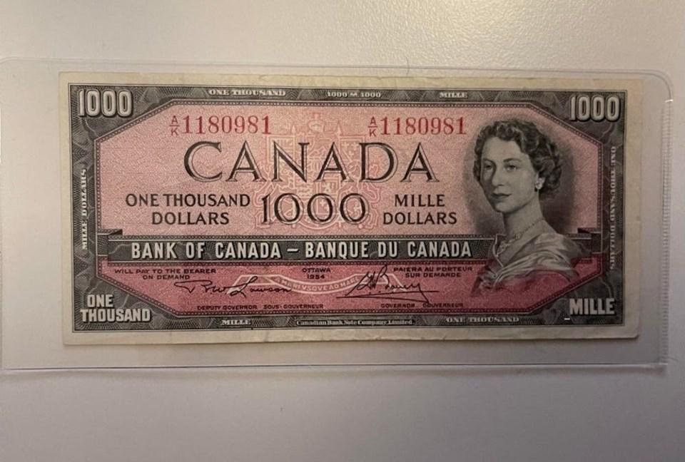 canadian-1000-bill-19502