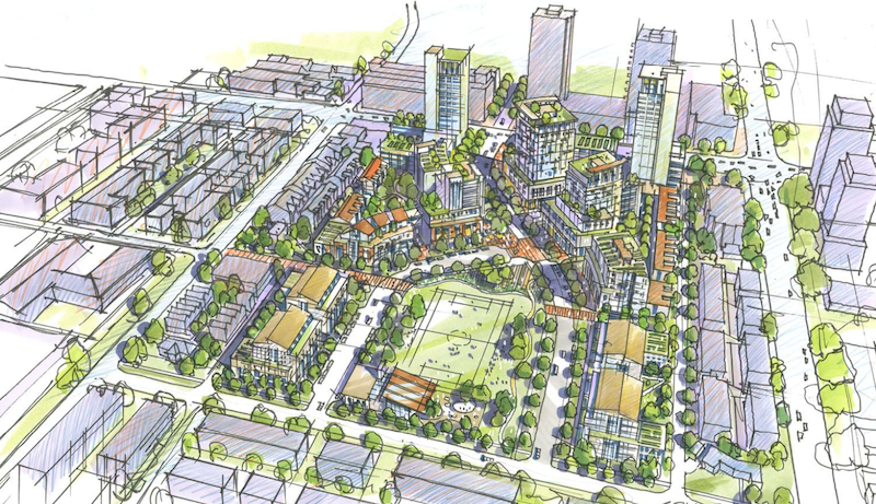 Rendering by James KM Cheng Architects via City of Vancouver