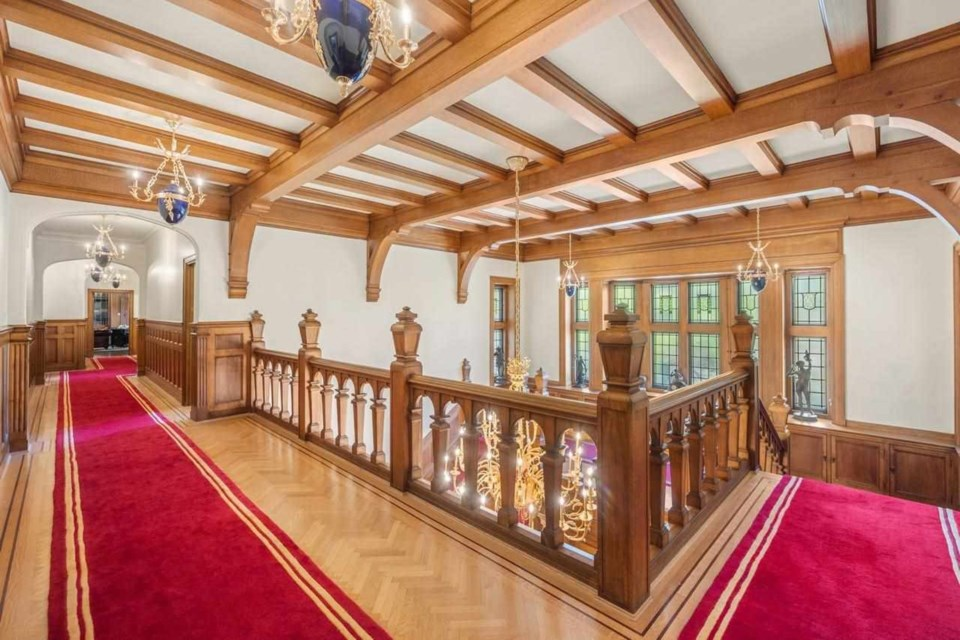 A sprawling mansion in Vancouver's Shaughnessy neighbourhood comes with a staggering price tag but offers severalpost-Medieval features.