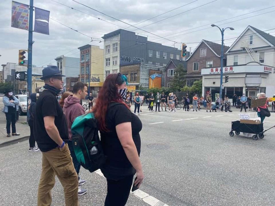 DOLF-protestors