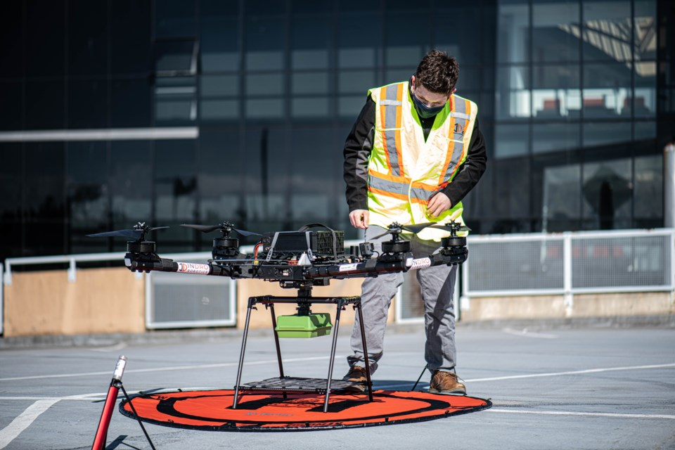 Earlier this week UBC hosted the first drone flight in Canada powered by a 5G network.