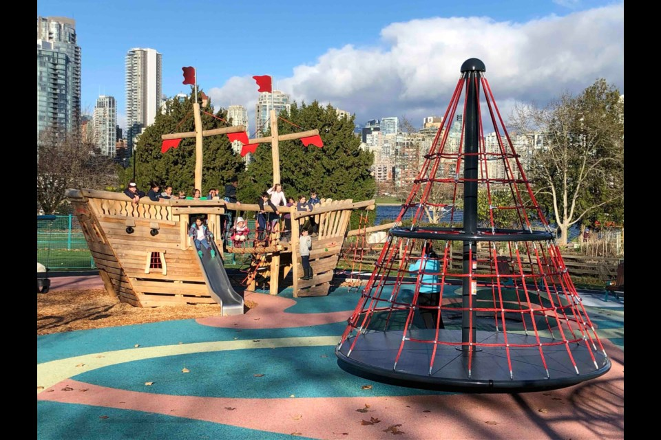 From pirate ships to treehouses, trampolines to hill slides, play kitchens tospider web nets, children in Vancouver have numerous activities to enjoy at six new playgrounds that recently opened across the city.
