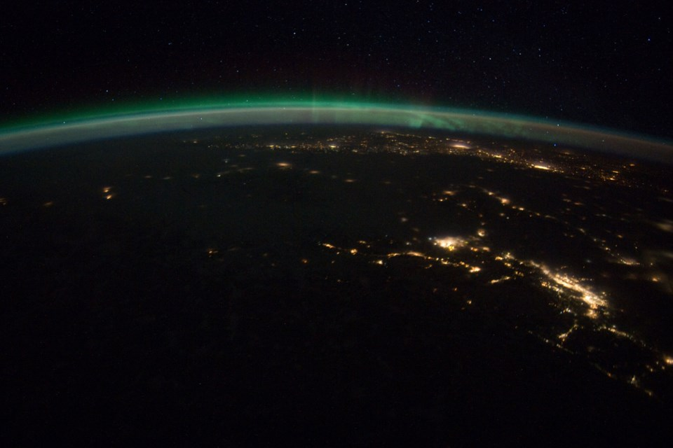 Almost a decade ago, NASA captured some stunning images of the aurora borealis over Vancouver.