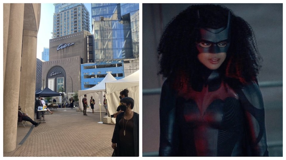 batwoman-filming-vancouver-public-library-july-2021