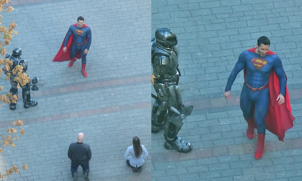 Superman spotted in downtown Vancouver (PHOTOS & VIDEO)