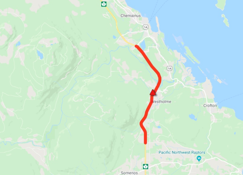 Flooding shuts down highway, state of emergency declared in Cowichan Valley