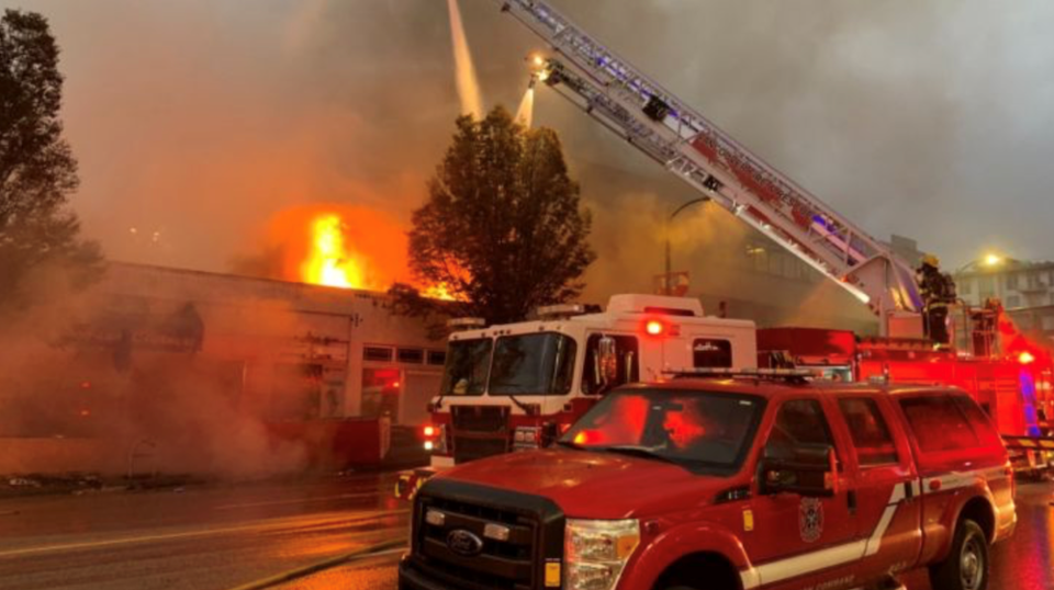cambie street fire businesses destroyed gofundme
