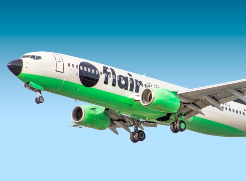 flair-airlines-plane