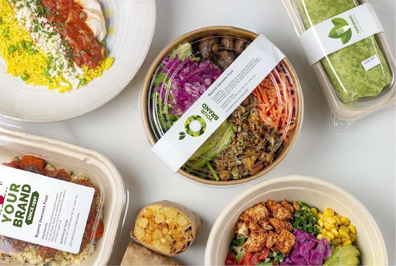 Custom Branded Meals Horizontal