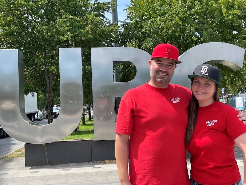 Doug Stephen and Lindsey Mann