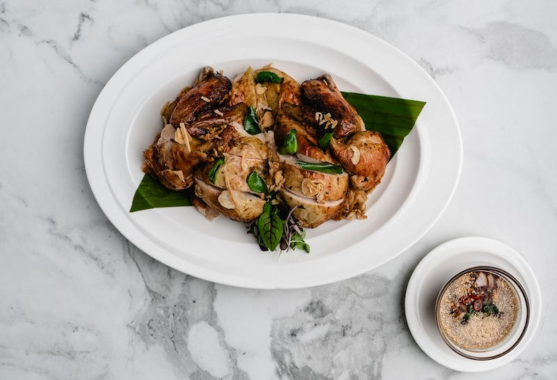 Gai Yaang from Baan Lao, a new Thai restaurant opened by a former nurse and cancer researcher turned chef