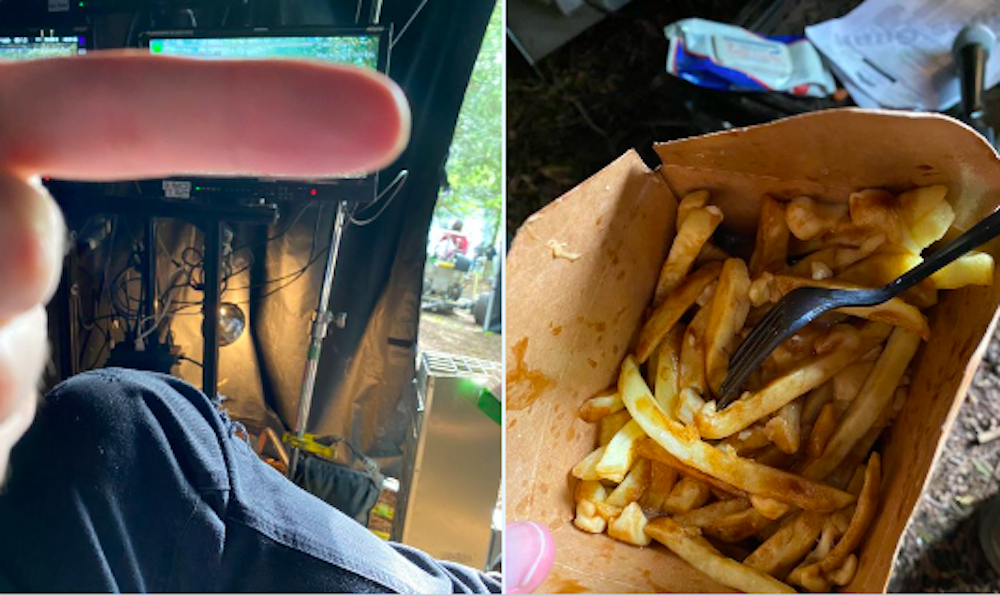 This American movie director tried poutine for the first time Metro Vancouver (PHOTOS)