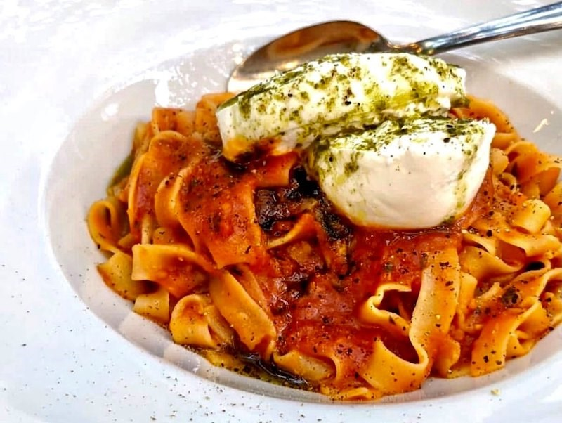 Robba da Matti, which began as Yaletown L'Antipasto, is known for its pasta dishes.