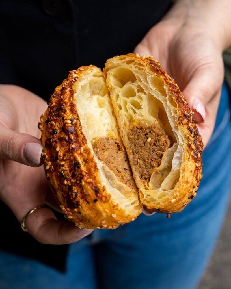 Pulled Pork Croissant - credit Rich Won 4