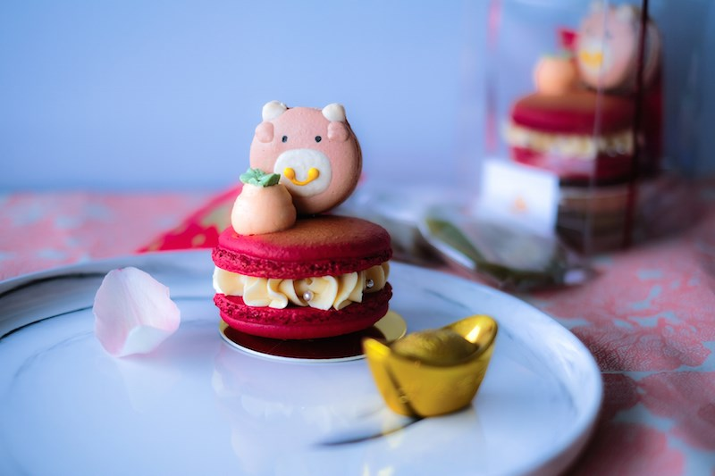 Year of the Ox Macarons - Little Fox - 2