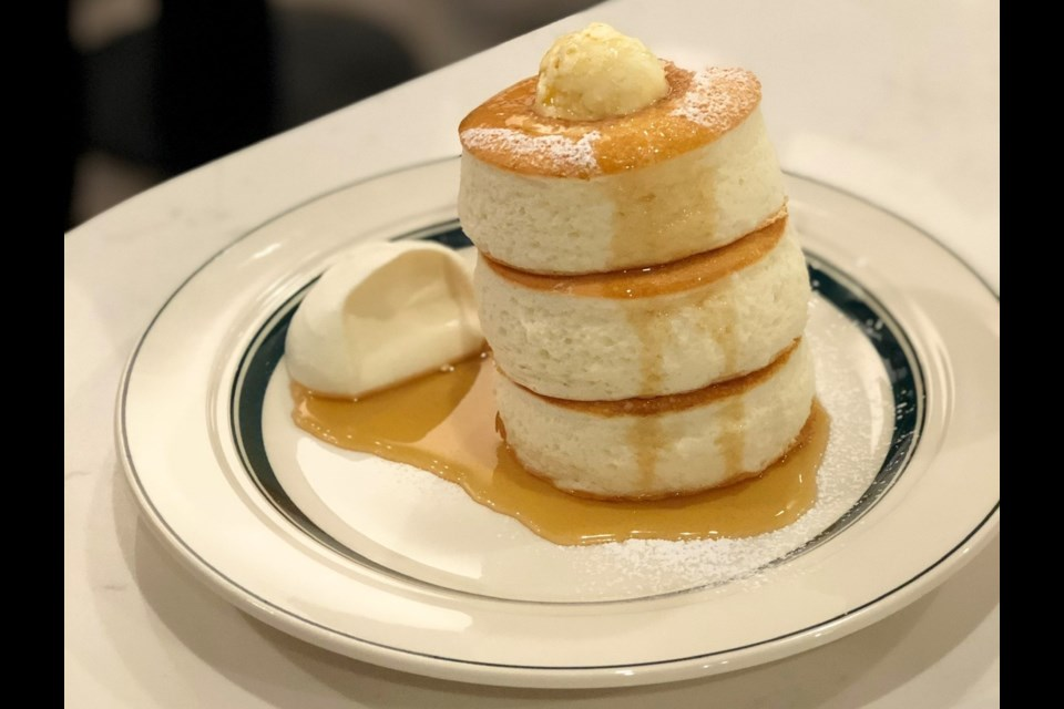 Premium Pancakes at Gram Cafe. Photo by Lindsay William-Ross/Vancouver Is Awesome
