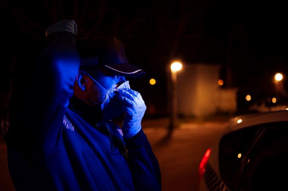 whistler bc police issue coronavirus fines - getty