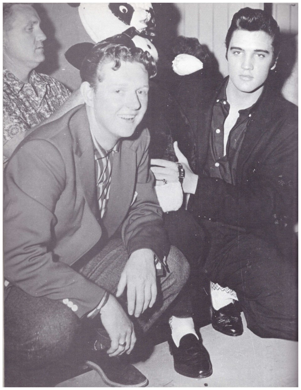 Elvis and Red