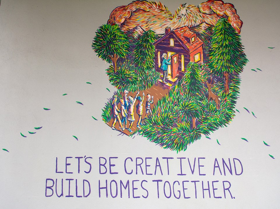 Homeless mural 1