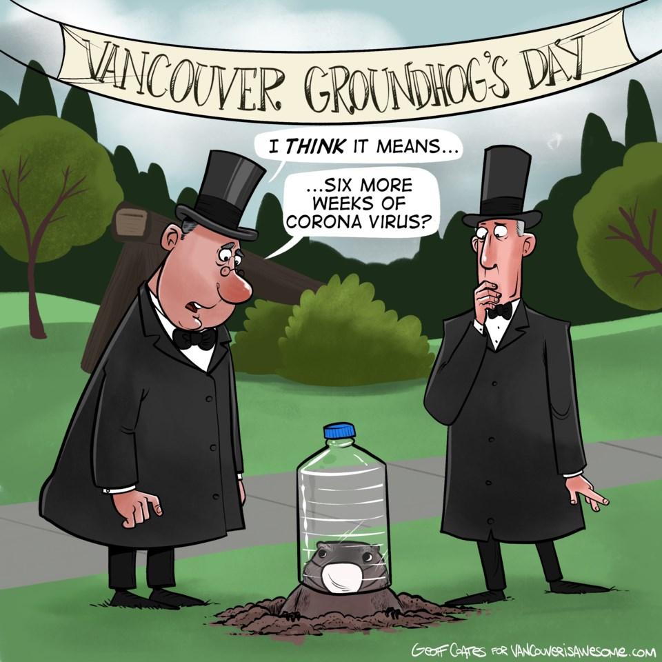Cartoon: 6 More Weeks Of Coronavirus?
