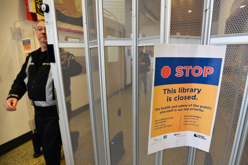 City officials warned more closures could be coming, as the outbreak continues in B.C.