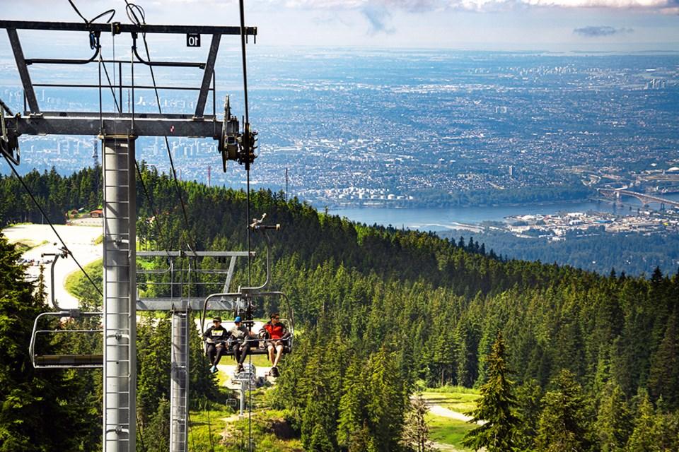 Mt Seymour Sky Chair