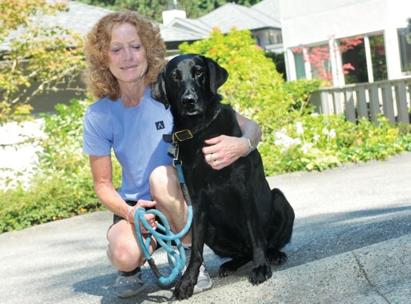 nancy-hourston-casey-dog-north-vancouver