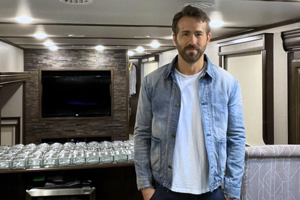 One-hundred bottles of Ryan Reynolds' Aviation Gin, complete with the actor's autograph, will be available for sale in June.