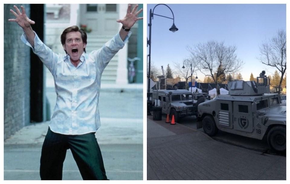jim-carrey-military-vehicles-sonic-the-hedgehog-2-metro-vancouver-film