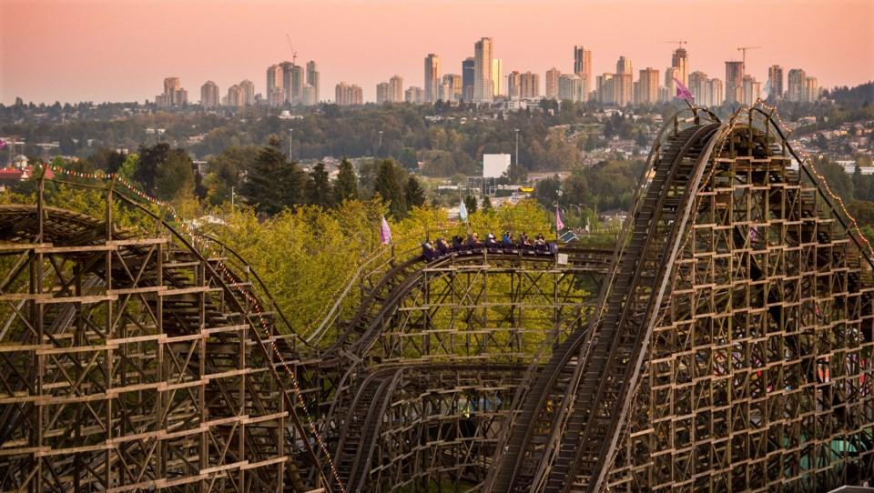 playland coaster