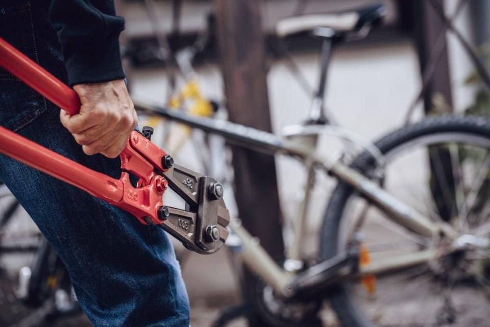 Bike theft stock
