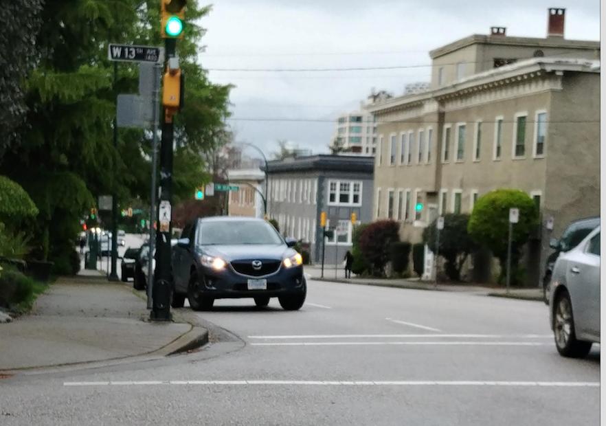 gray Mazda suv - vancouver - Monday May 3