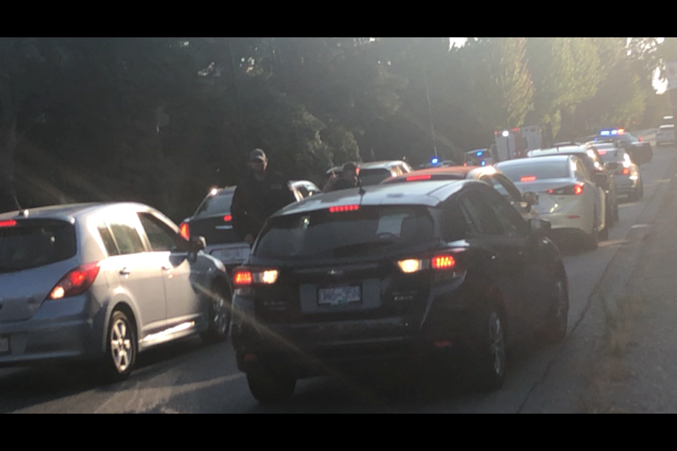 Vancouver police say two people are in hospital with life-threatening injuries after a confrontation in the Fairview neighbourhood on July 12, 2021.