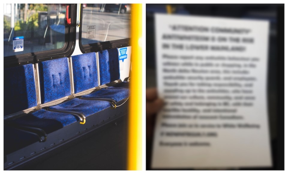 white-power-posters-metro-vancouver-bus-translink-racist