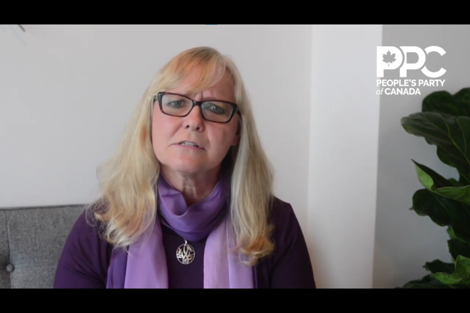 Renate Siekmann, the PPC candidate for Vancouver Quadra faced condemnation from the British Columbia Assembly of First Nations for the comparison earlier this week.
