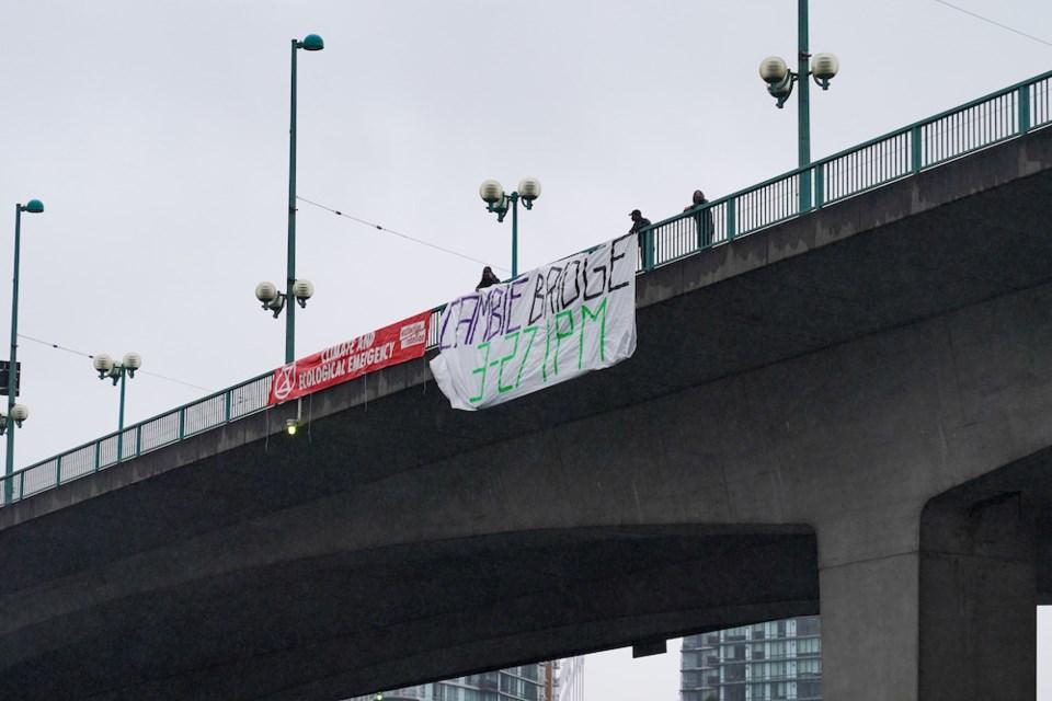 cambie-bridge-protest-vancouver