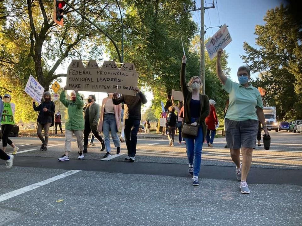 strathcona-protest