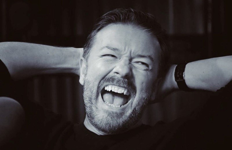 Ricky Gervais just singled out a Vancouver brew as the best beer he's ever tasted