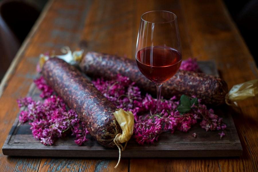 sausage-rose