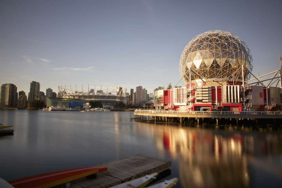 What's left from Expo 86 in Vancouver? Some things, like special venues like Science World, are definitely still around. Photo: Science World / Getty Images