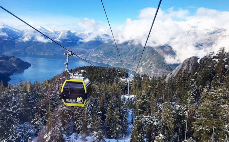 The Sea to Sky Gondola is up and running again after six months. Photo by @hflvancouver/Instagram