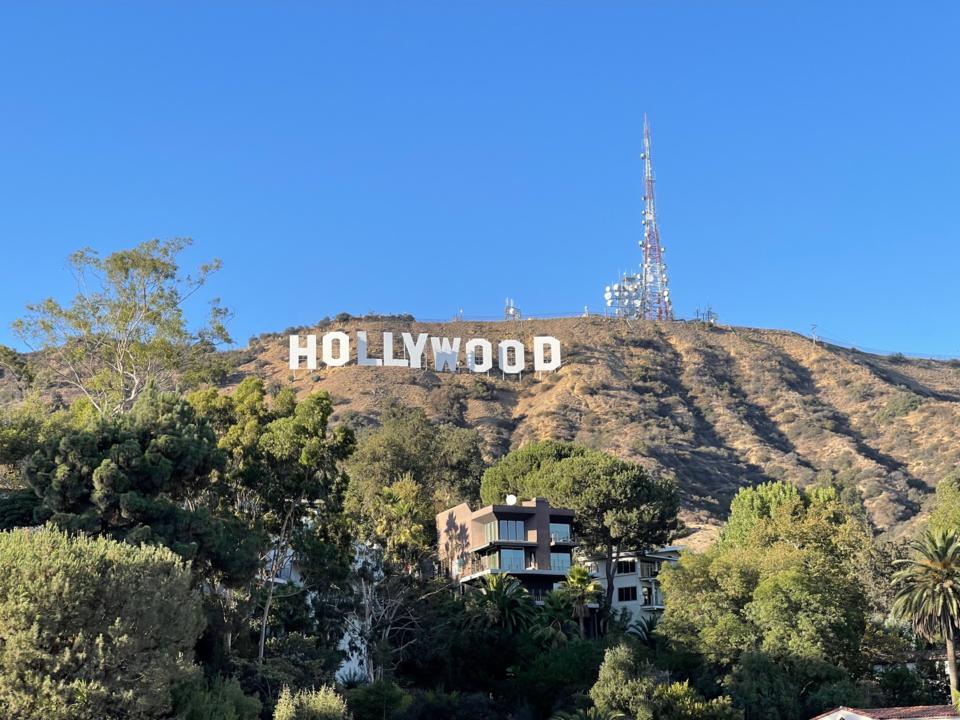 Flair Hollywood sign