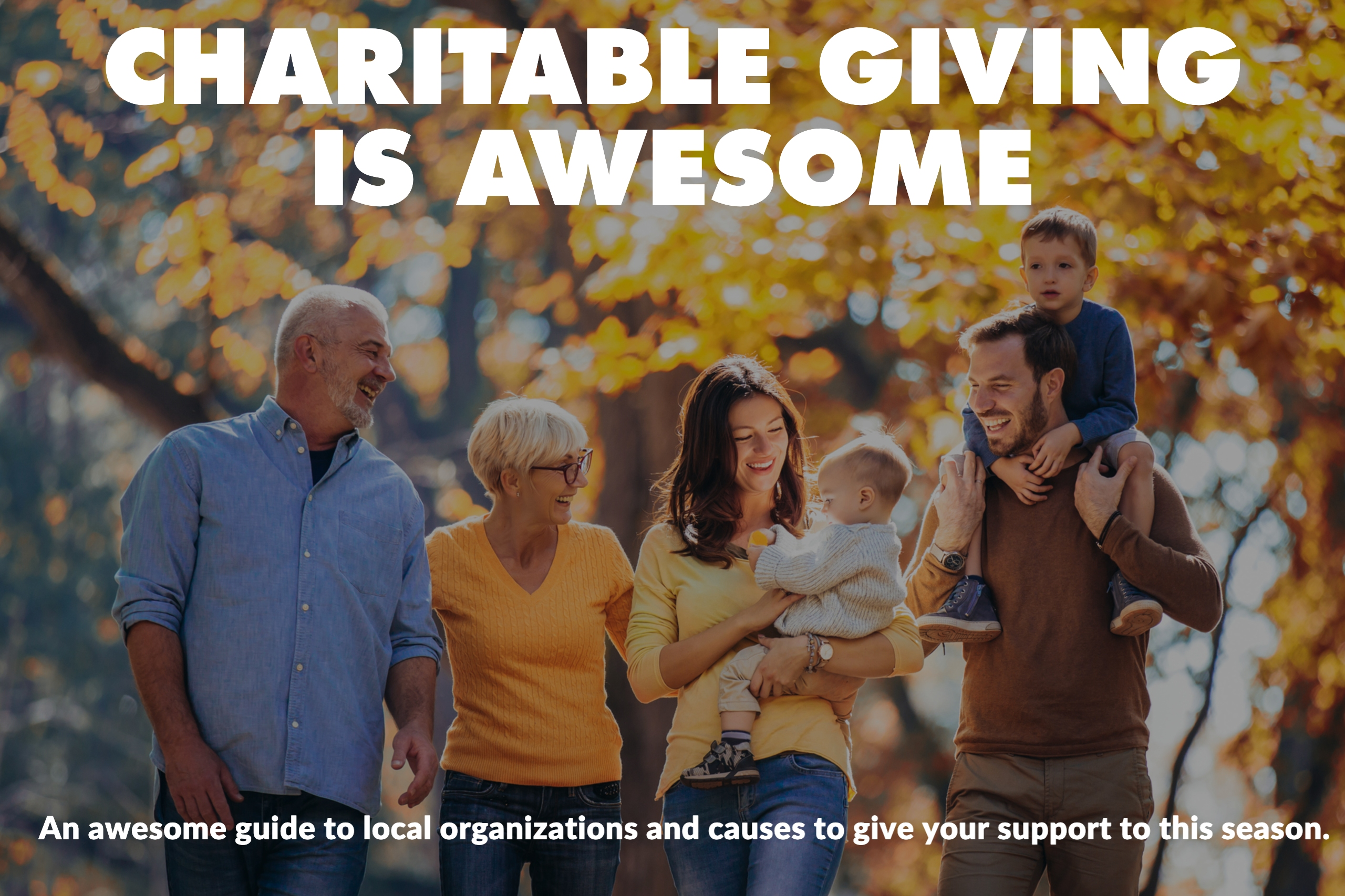 GIVING IS AWESOME