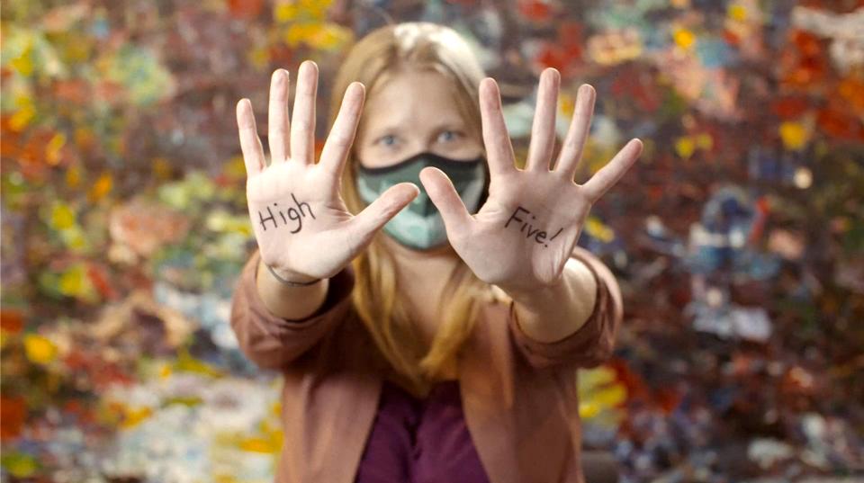 High Fives-Lizz Moffat, foundation staff