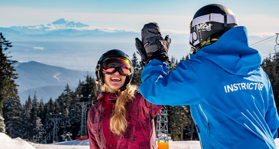 mt seymour adult lessons