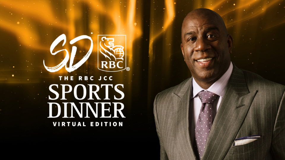 RBC JCC Sports Dinner Magic Johnson