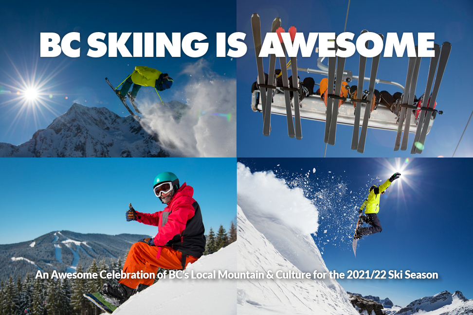 B.C. SKIING IS AWESOME