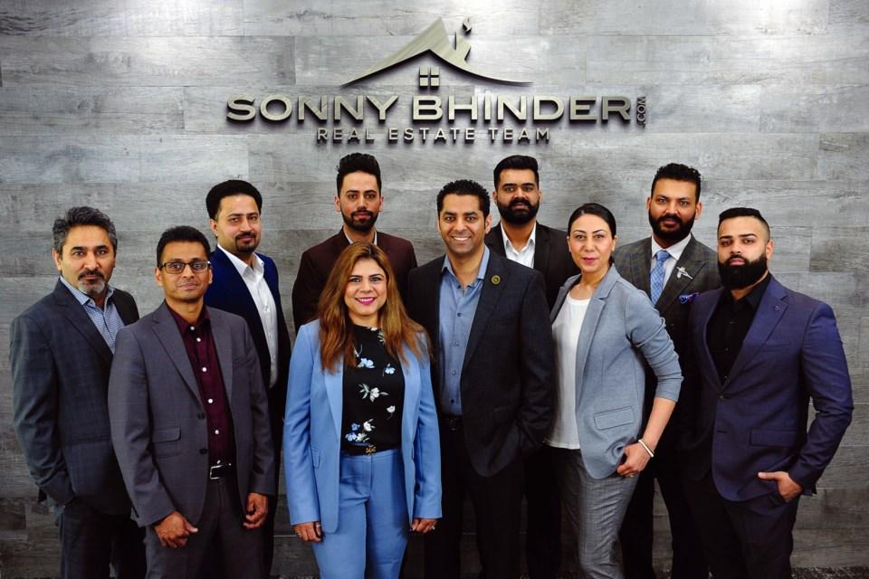 Sonny Bhinder Team