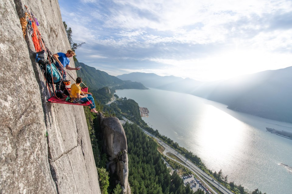 yervana Tony McLane - Squamish Cliff Camping Adventure3